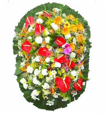 Coroa de Flores Exclusiva B | Coroas em uma hora