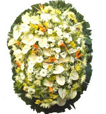 Coroa de Flores Elegance D | Coroas em uma hora
