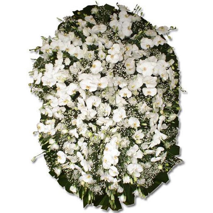 Coroa de Flores Exclusiva A | Coroas em uma hora