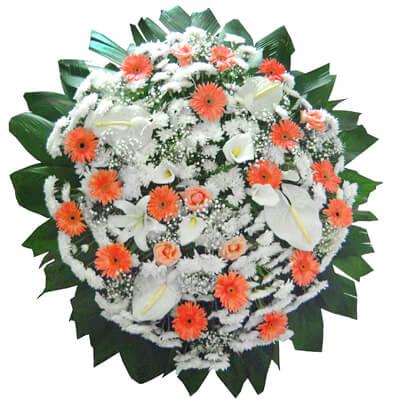 Coroa de Flores Requinte E | Coroas em uma hora