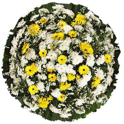 Coroa de Flores Tradicional A | Coroas em uma hora