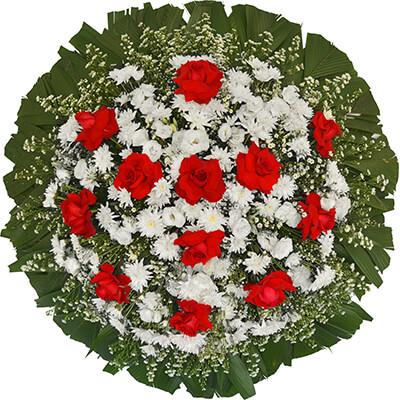 Coroa de Flores Tradicional E | Coroas em uma hora