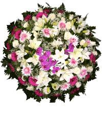 Coroa de Flores Elegance F | Coroas em uma hora