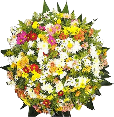 Coroa de Flores Tradicional B | Coroas em uma hora