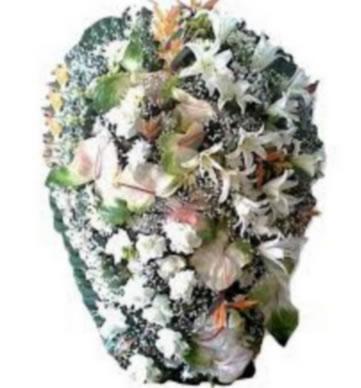 Coroa de Flores Exclusiva W | Coroas em uma hora