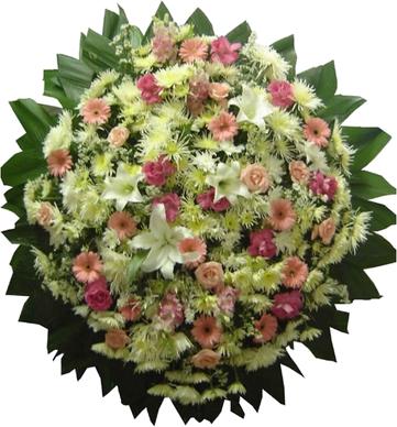 Coroa de Flores Requinte A | Coroas em uma hora