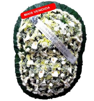 Coroa de Flores Exclusiva D | Coroas em uma hora