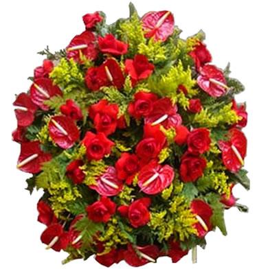 Coroa de Flores Tradicional D | Coroas em uma hora